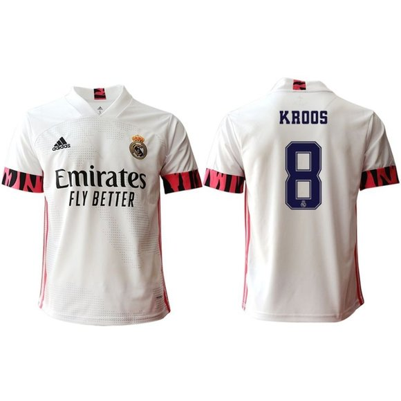 Other - Real Madrid Toni Kroos White 20-21 Jersey